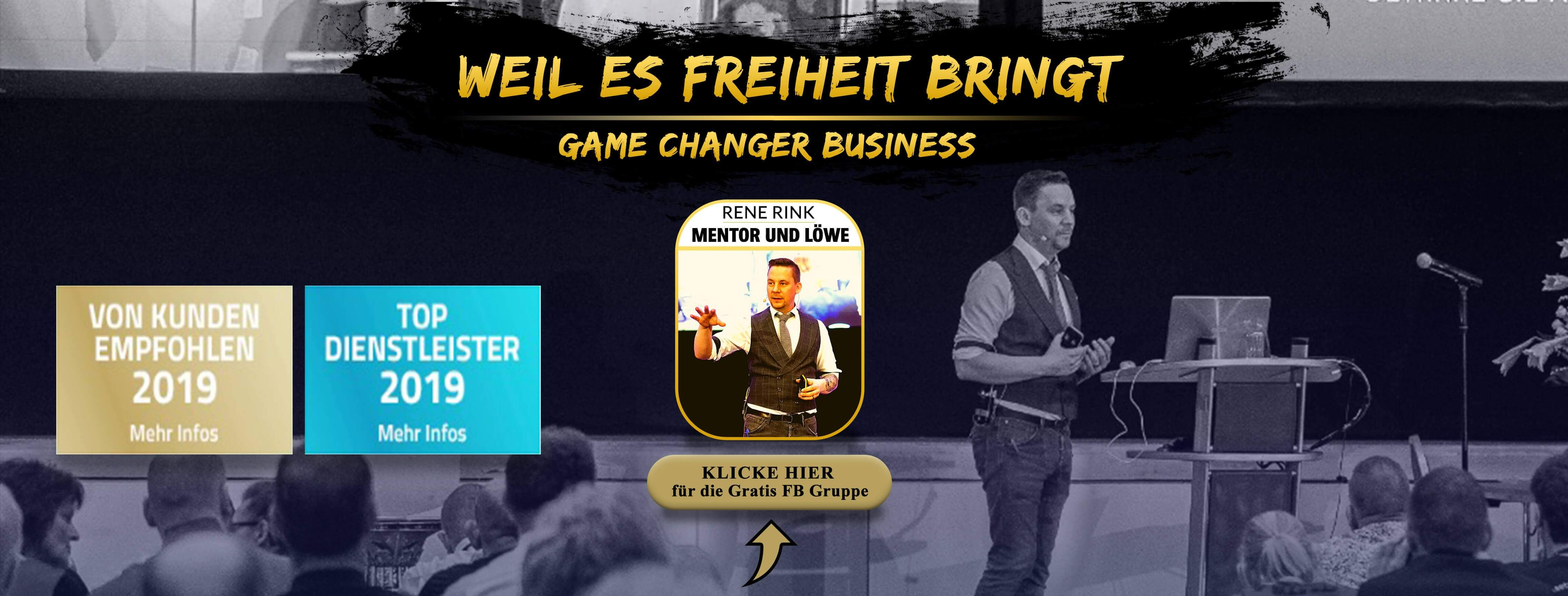 GAME CHANGER Marketing mit René Rink